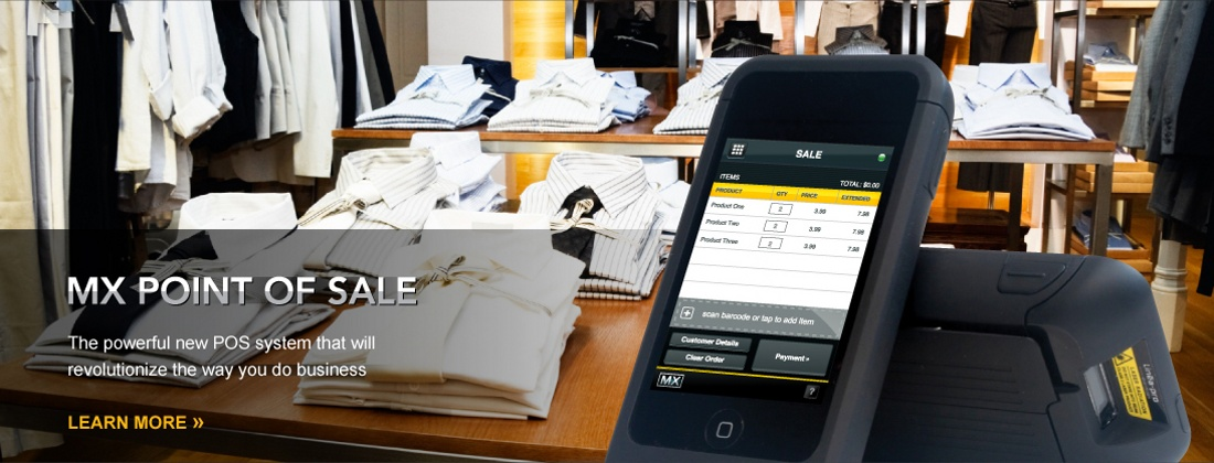 MX Point of Sale: The powerful new POS electronic payment processing system.